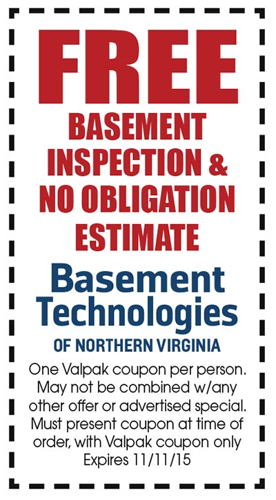 FREE BASEMENT INSPECTION & NO OBLIGATION ESTIMATE